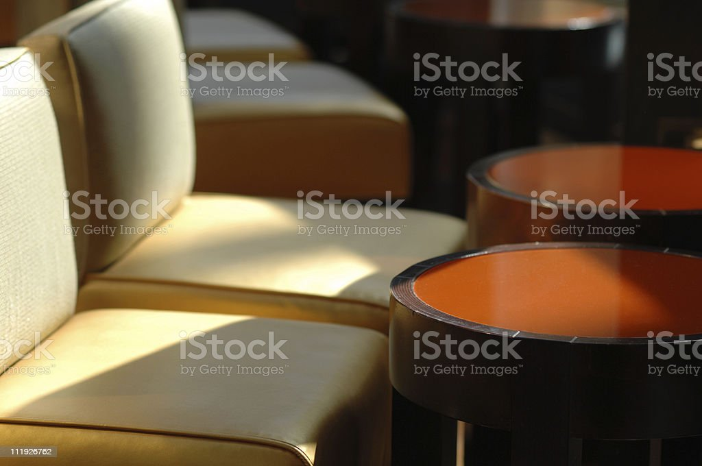 Hotel Lounge royalty-free stock photo