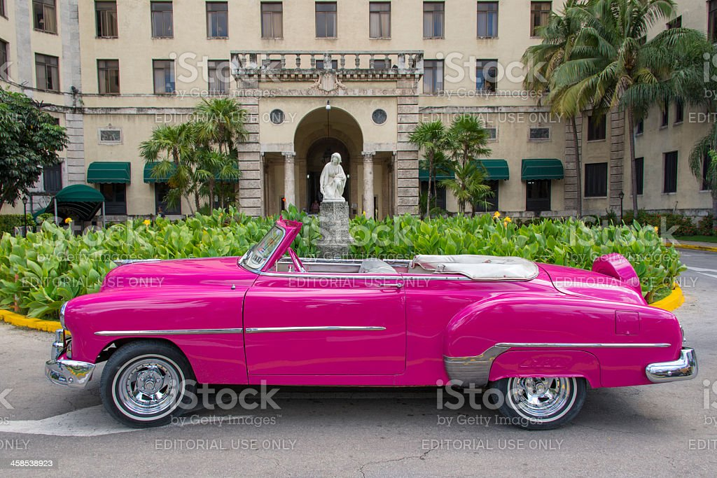 Hotel Nacional de Cuba royalty-free stock photo