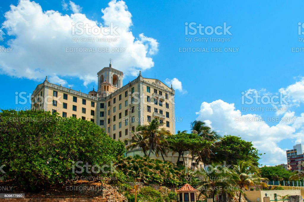 Hotel Nacional, Havana, Cuba stock photo