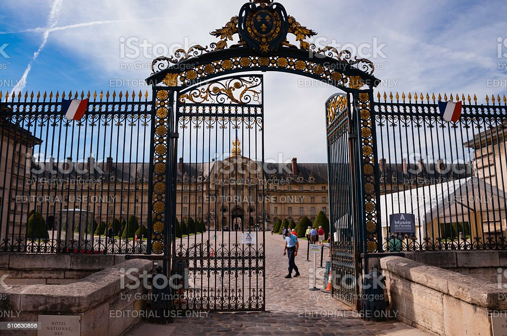 Hôtel National Des Invalides (Paris, France) stock photo
