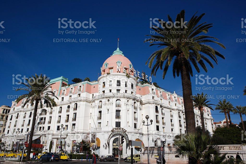 Hotel Negresco, Nice, France royalty-free stock photo