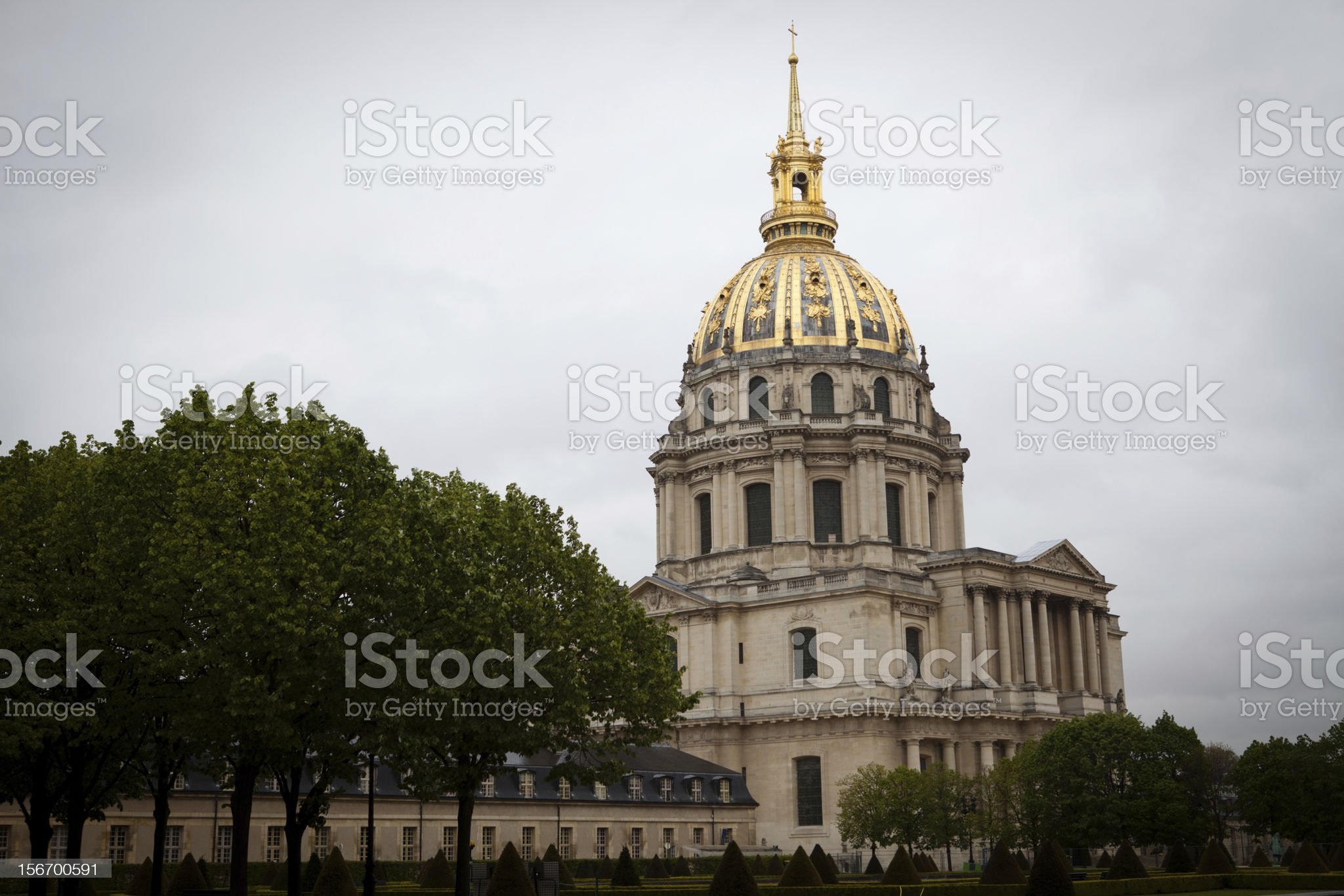 Hotel of Invalides royalty-free stock photo