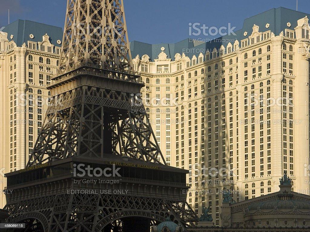 Hotel Paris Las Vegas stock photo