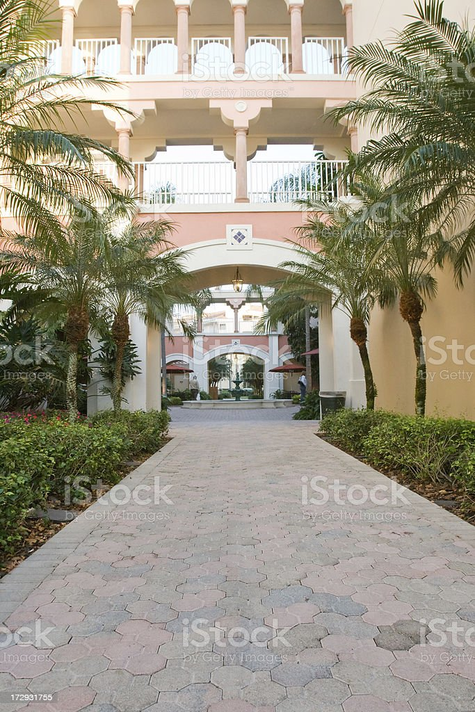 hotel royalty-free stock photo