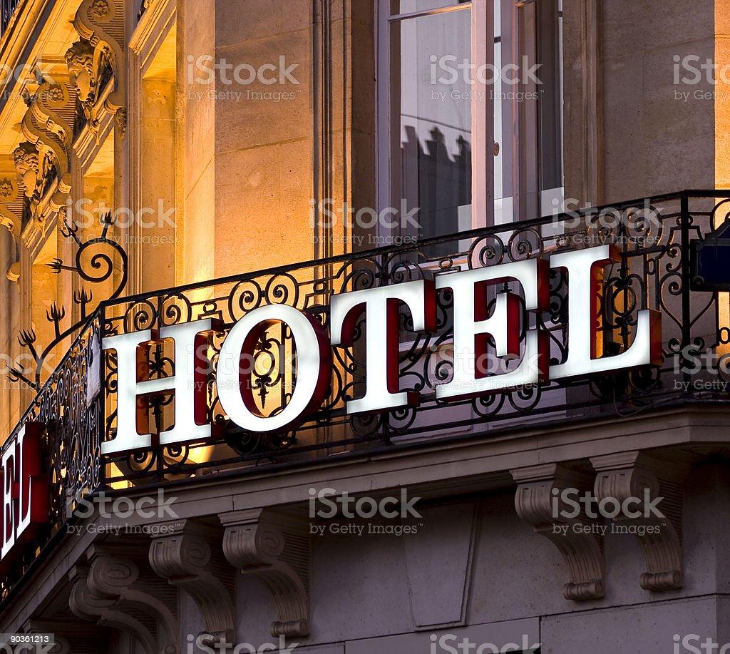 Отель в Стоковые фото Стоковая фотография