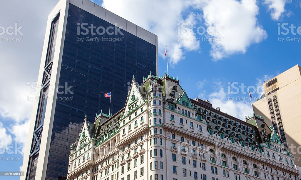Hotel Plaza stock photo