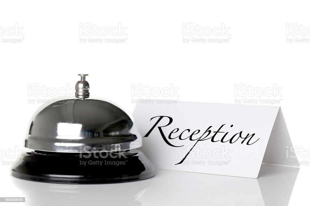 Hotel reception desk royalty-free stock photo