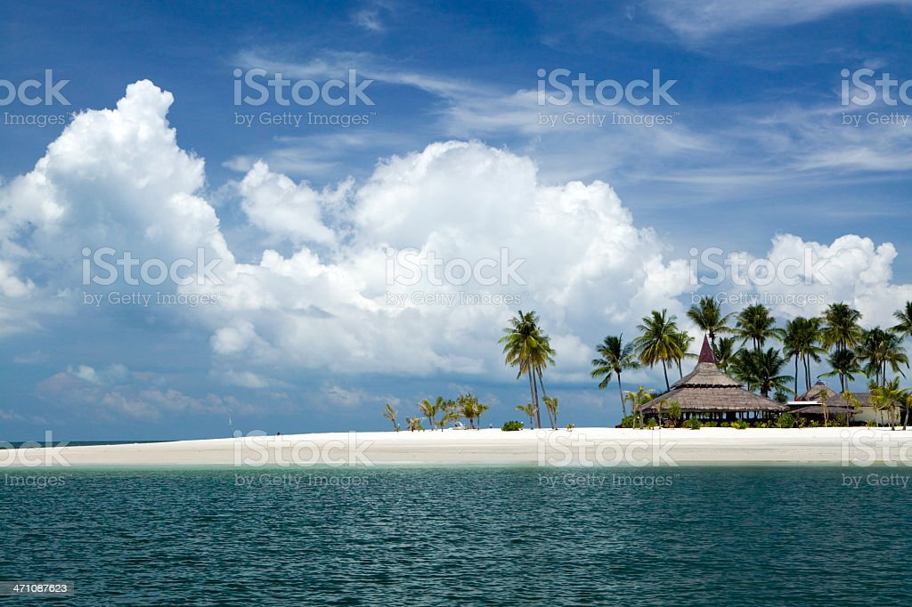 hotel resort koh mook trang thailand stock photo