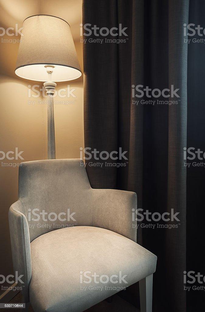 Hotel Room Furniture stock photo