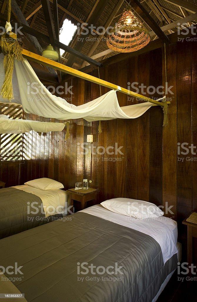 Hotel Room in Amazon stock photo