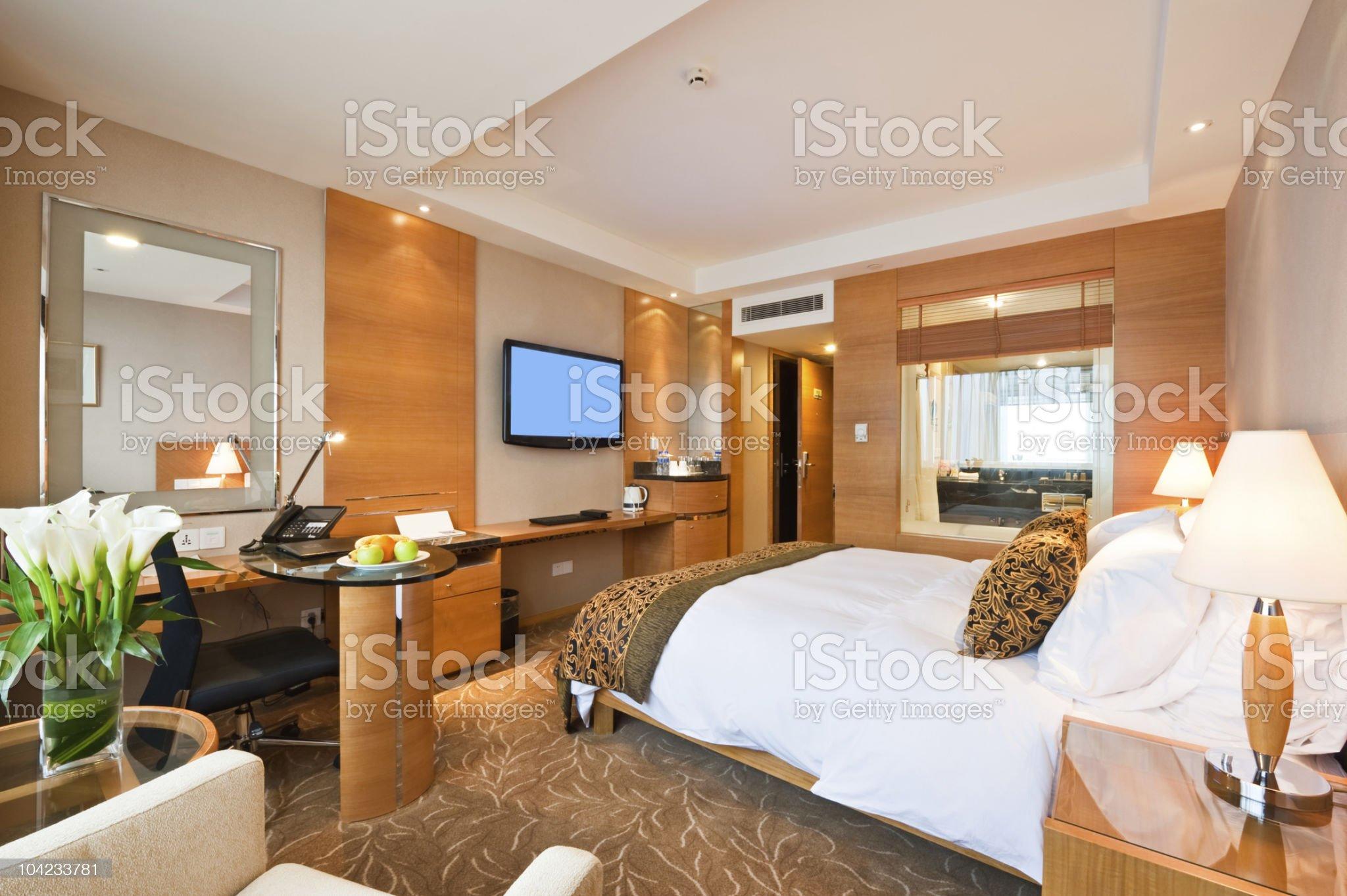 hotel room interior royalty-free stock photo