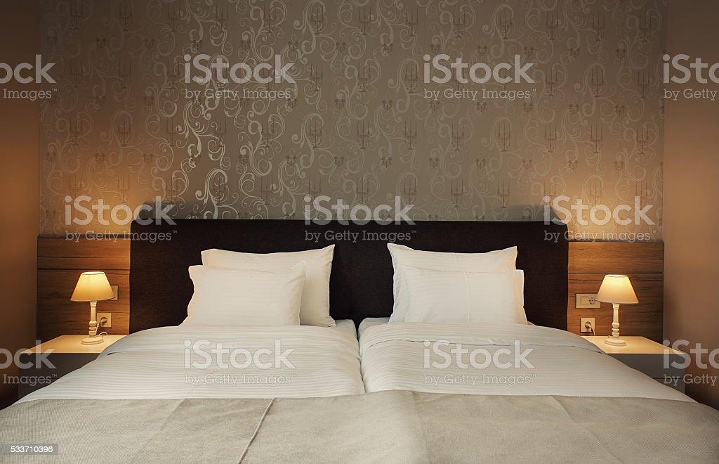 Hotel Room Interior stock photo