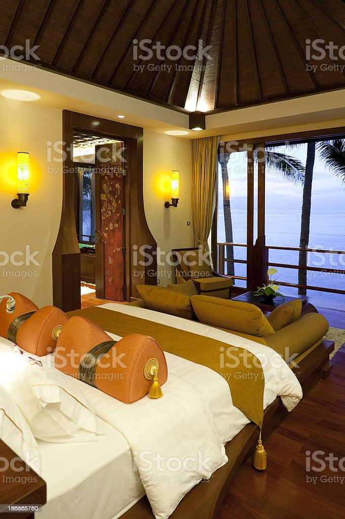 hotel room phuket thailand royalty-free stock photo