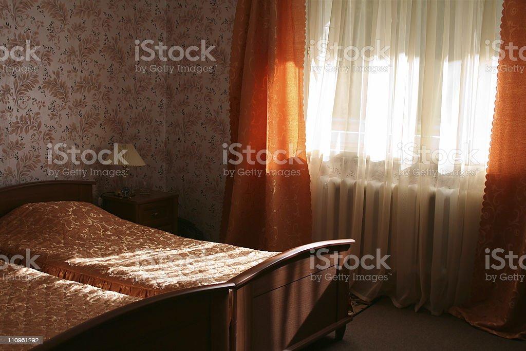 Hotel room. royalty-free stock photo