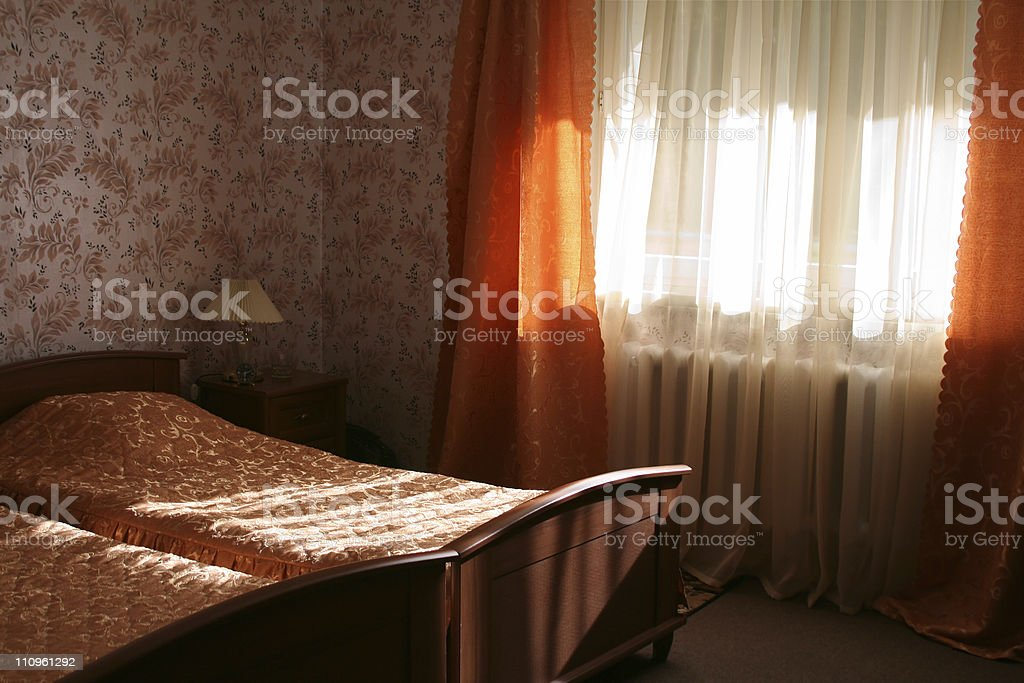 Hotel room. stock photo