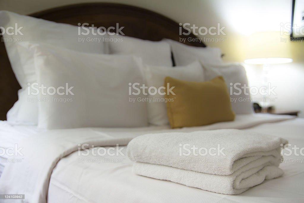 Hotel Room stock photo