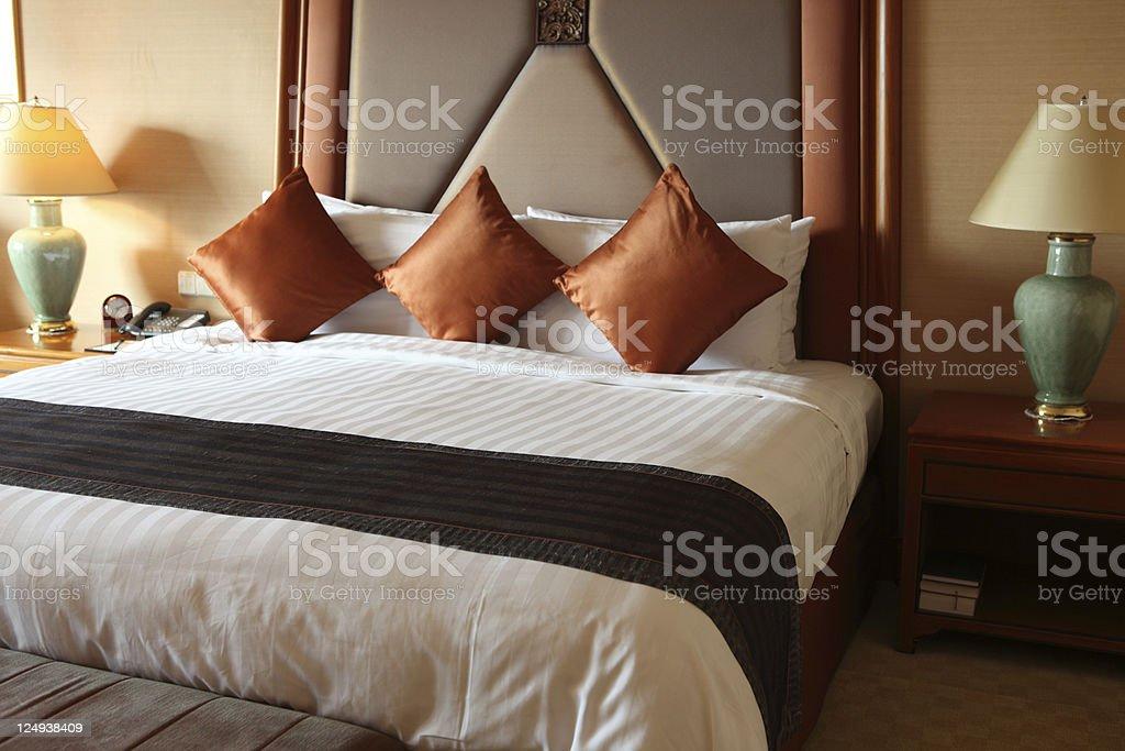 Hotel room royalty-free stock photo