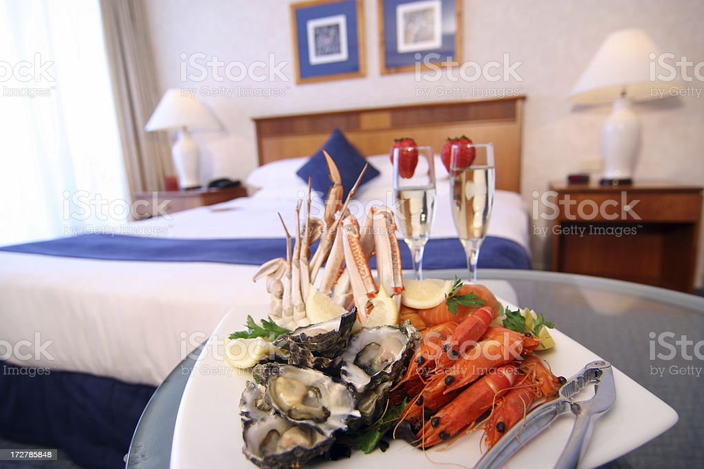 Hotel Room Service royalty-free stock photo