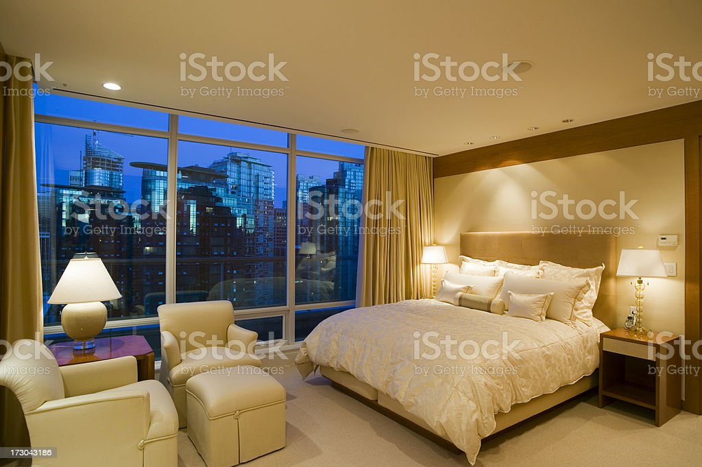 hotel room vancouver british columbia canada royalty-free stock photo