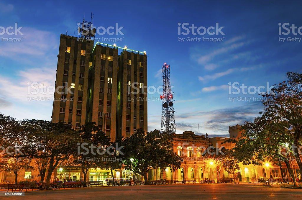Hotel Santa Clara Libre, Cuba stock photo