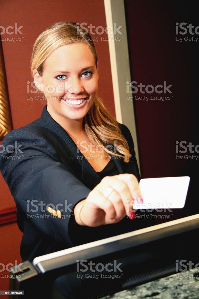 Hotel Smile stock photo