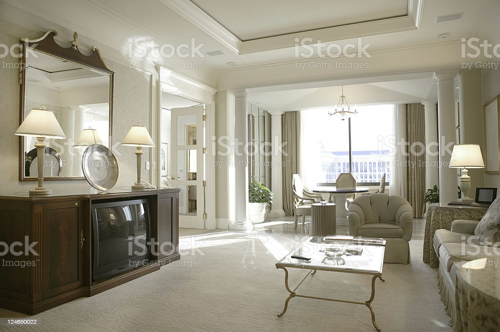 Hotel Suite royalty-free stock photo