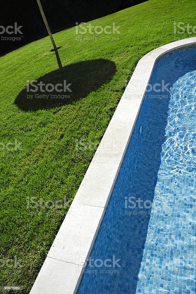 Hotel swimming pool 2 royalty-free stock photo