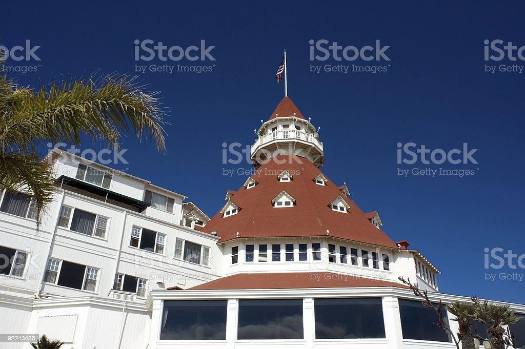 Hotel Tower stock photo