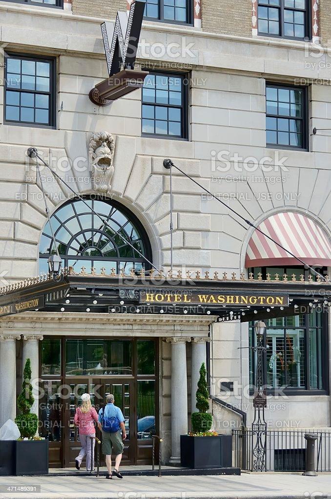 Hotel Washington royalty-free stock photo