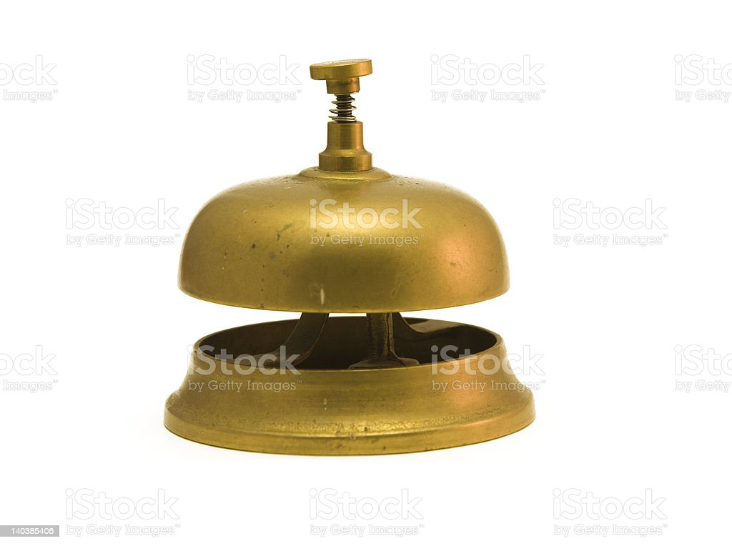 hotelbell royalty-free stock photo