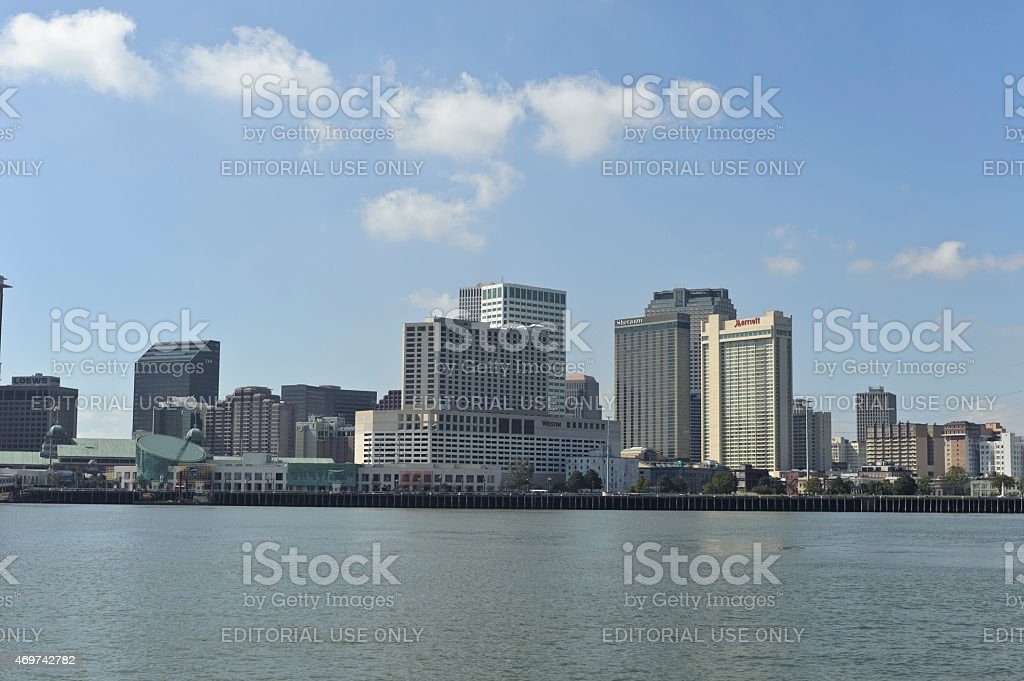 Hotels in New Orleans, USA stock photo