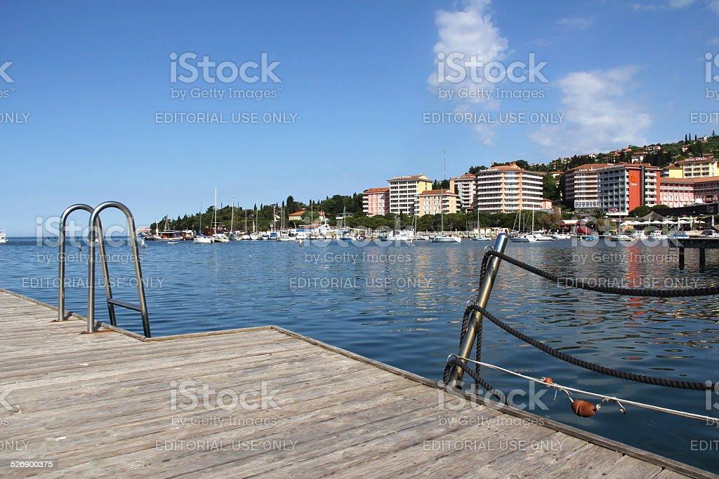 Hotels in Portoro? stock photo