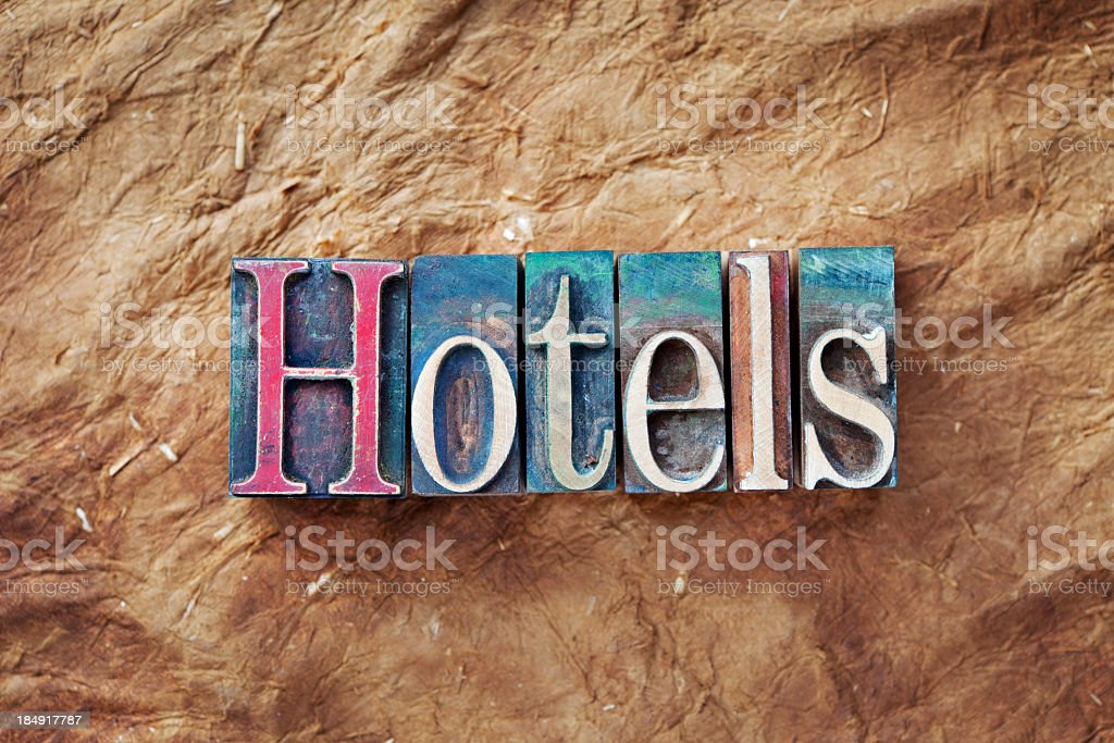 Hotels royalty-free stock photo