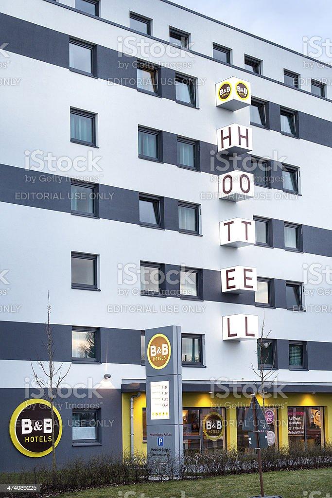 B&B Hotels stock photo