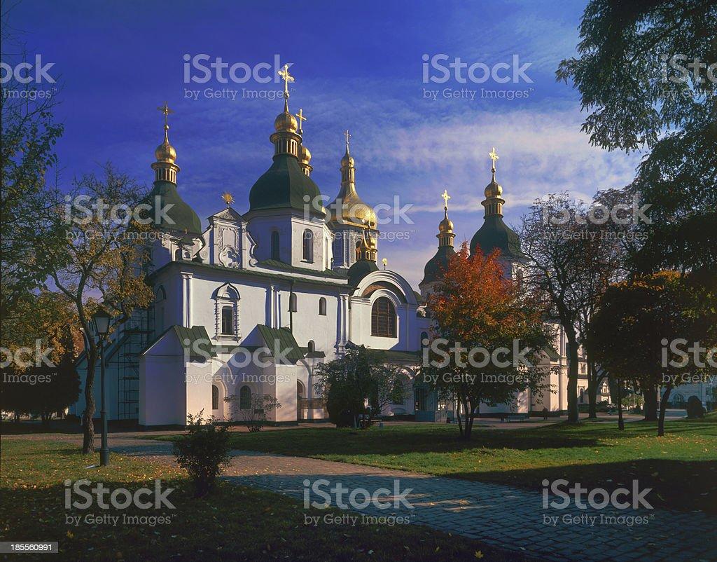 Hotinskaya fortress stock photo