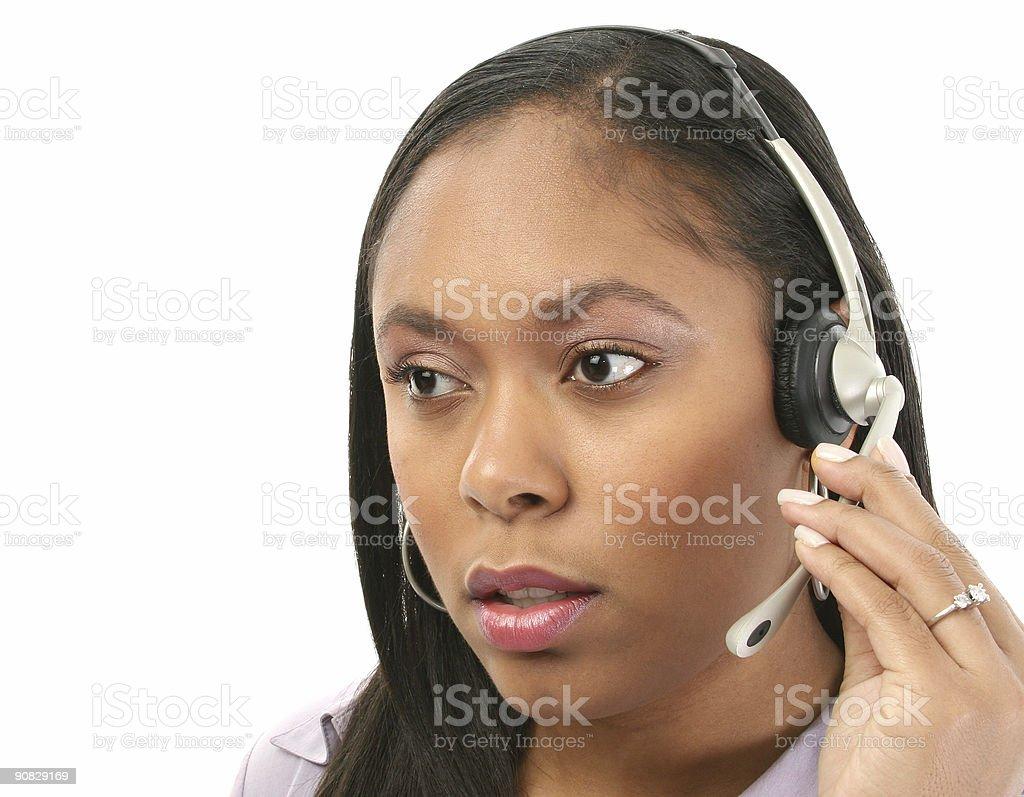 Hotline Help royalty-free stock photo