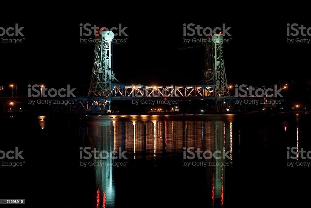 Houghton Lift Bridge stock photo