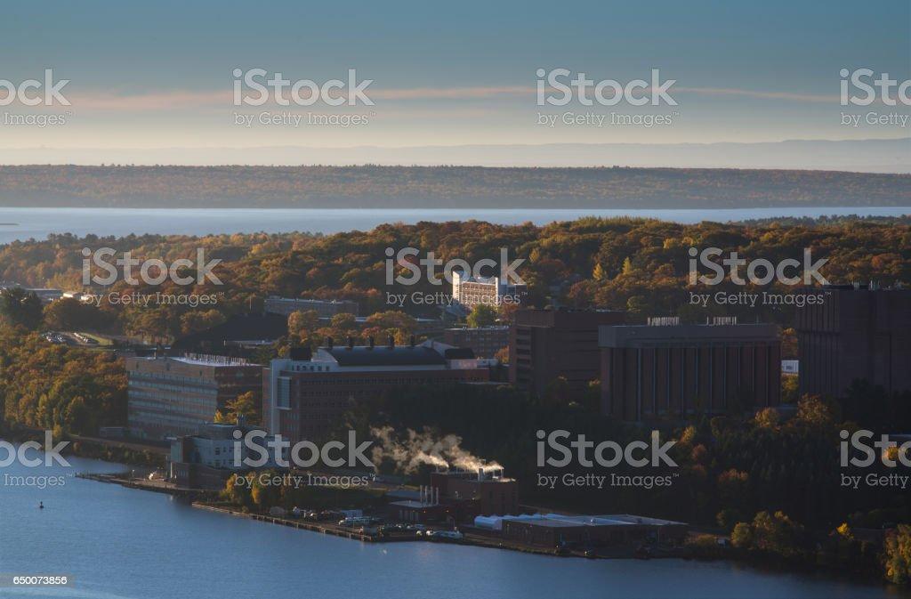 Houghton, Michigan stock photo