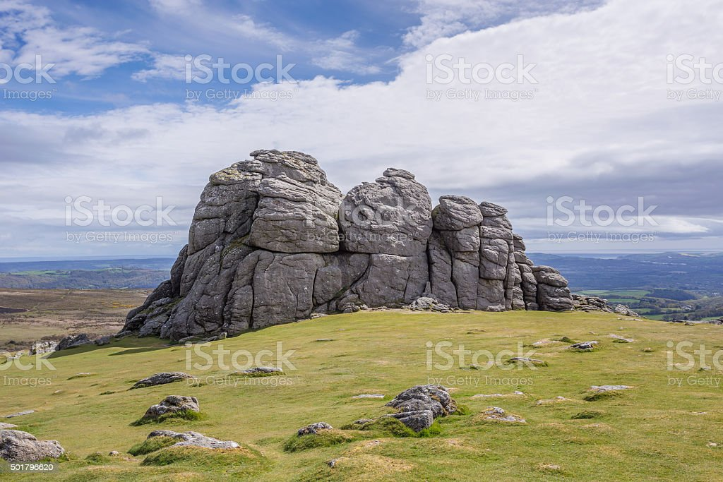 Hound Tor stock photo