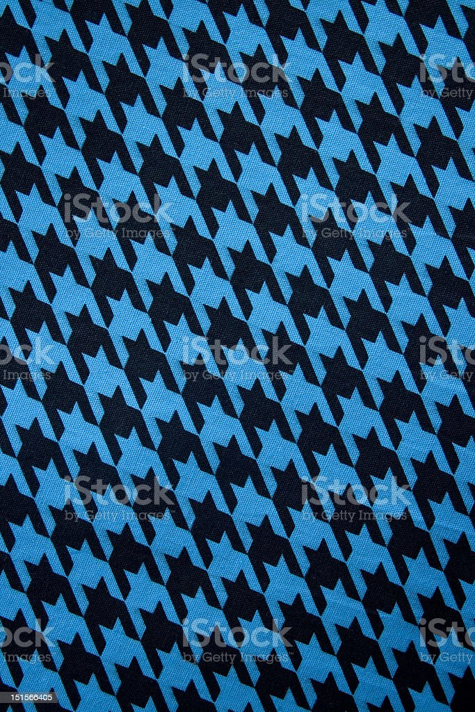 Houndstooth fabric background royalty-free stock photo