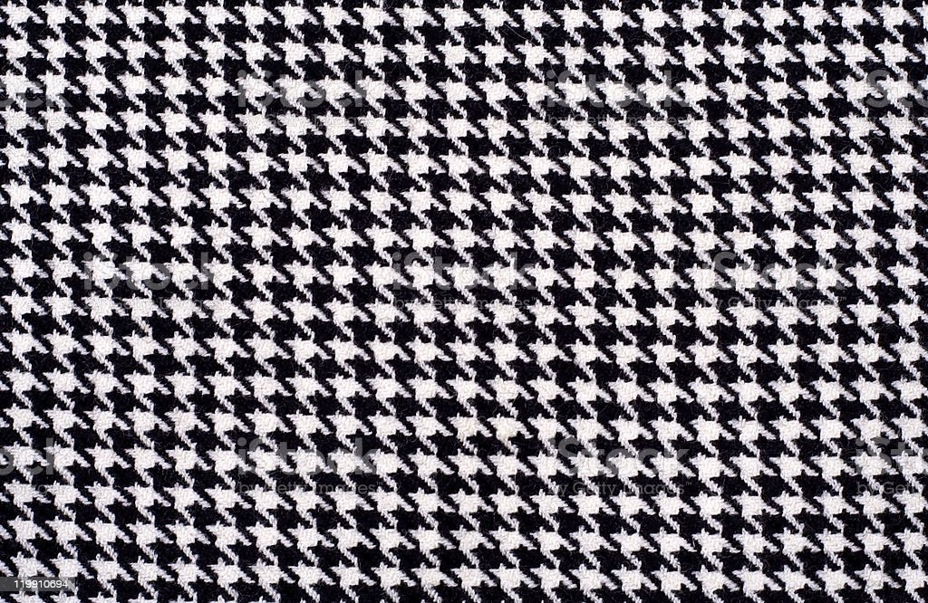 Houndstooth pattern royalty-free stock photo