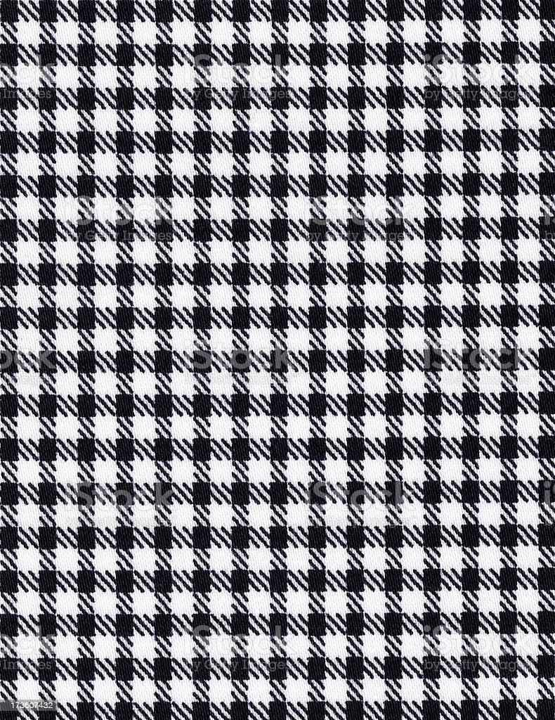 Houndstooth Textile Background royalty-free stock photo