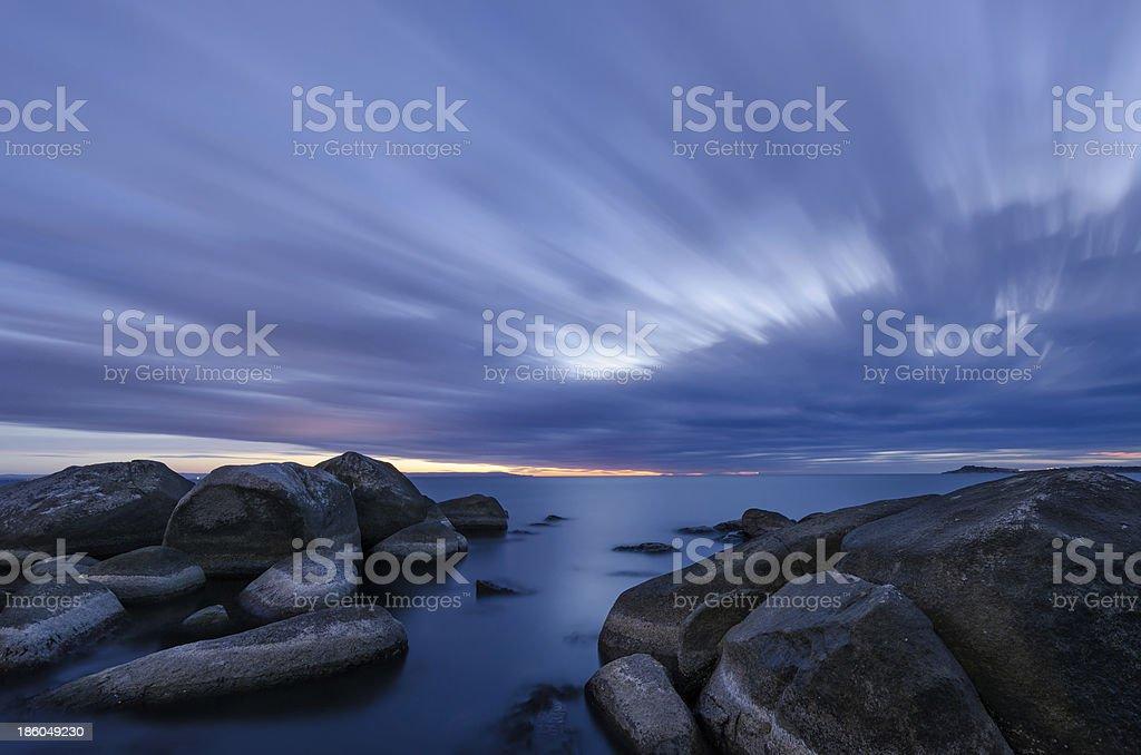 Hour Before Sunrise royalty-free stock photo