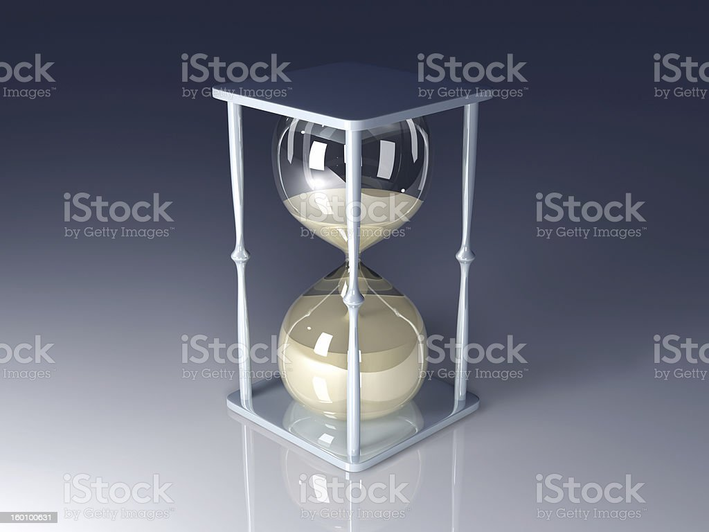 Hour Glass royalty-free stock photo