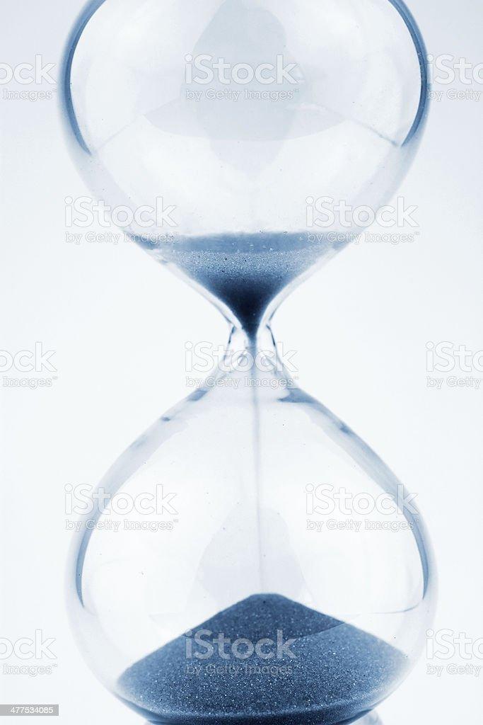 Hour glass stock photo
