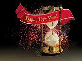Hourglass - Happy New Year