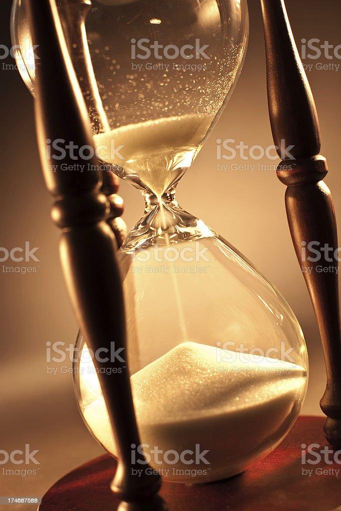 Hourglass royalty-free stock photo