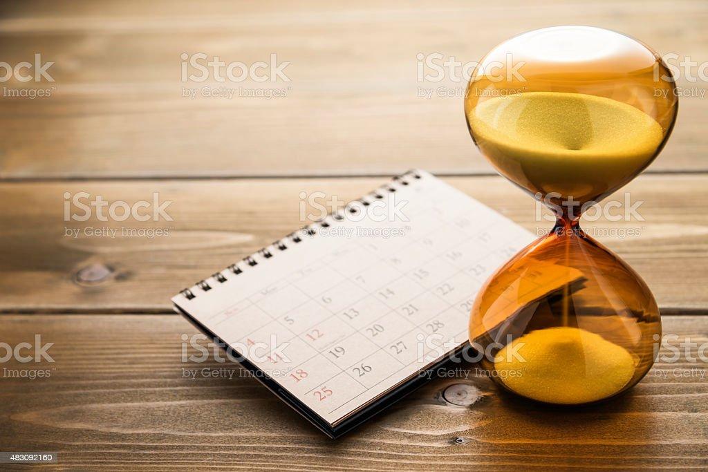 Hourglass. stock photo