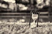 Hourglass (Sepia tone)