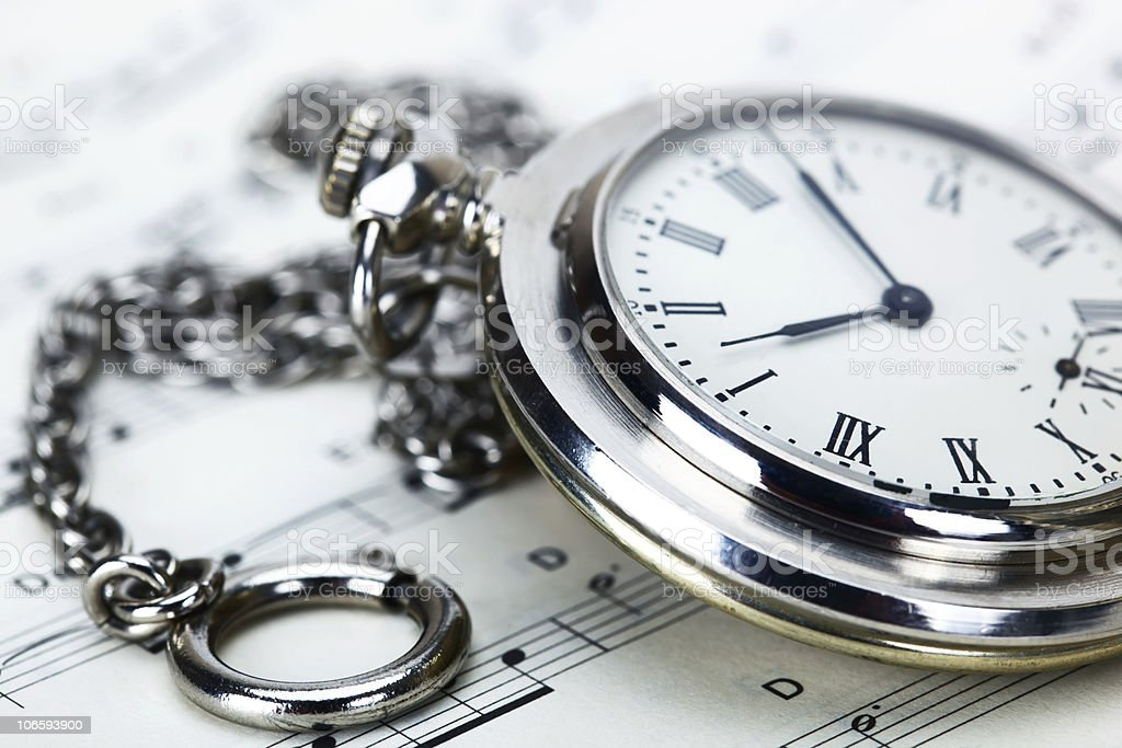 Hours royalty-free stock photo